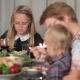 Family Enjoying Meal Together On Holidays - VideoHive Item for Sale