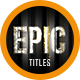 Epic Trailer Titles 5 - VideoHive Item for Sale