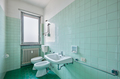 Old bathroom interior with green tiles - PhotoDune Item for Sale