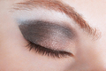Woman eye with bronze smokey make up - PhotoDune Item for Sale