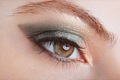 Woman with green eye smokey make up - PhotoDune Item for Sale
