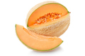 Cantaloupe melon with slice isolated on white, clipping path - PhotoDune Item for Sale