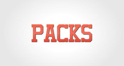 PACKS ON SALE