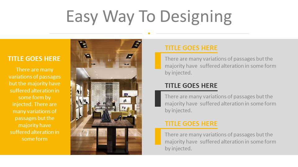 Architecture and Interior Design PowerPoint Presentation Template