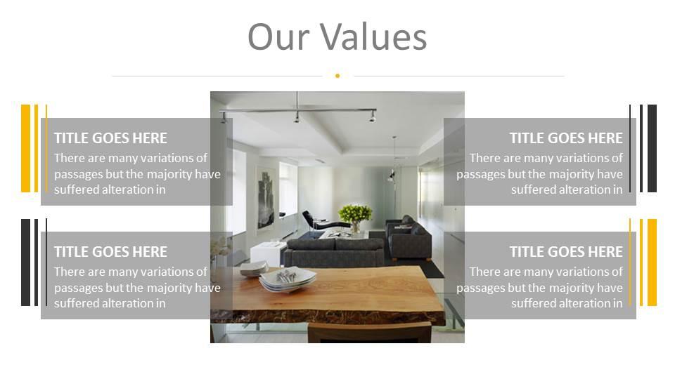 Architecture And Interior Design Powerpoint Presentation