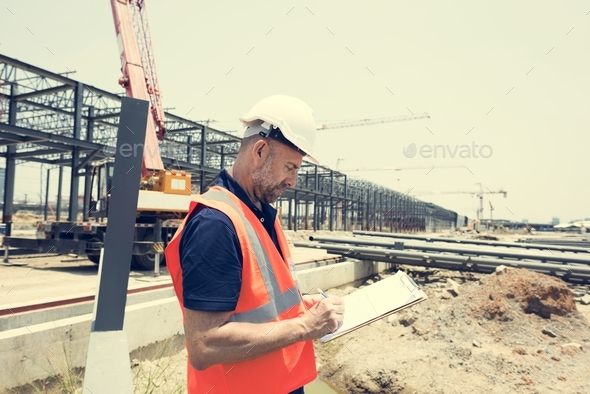 Architect Contractor Professional Building Career Concept - Stock Photo - Images