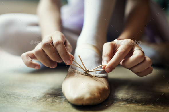 Young Ballerina Dance Training Performance Concept - Stock Photo - Images