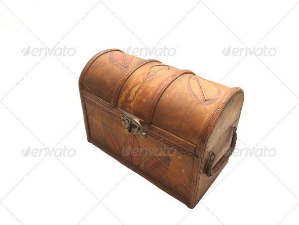 treasure chest - Stock Photo - Images
