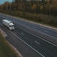 Truck On The Road, Top View - VideoHive Item for Sale