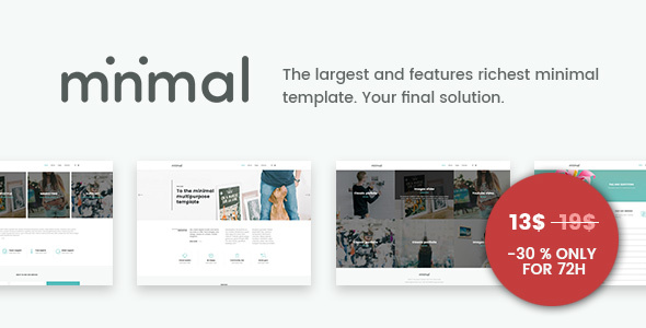 Minimal – The Final Minimal Solution