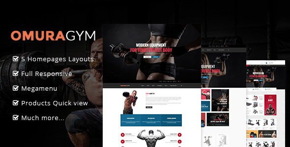 Image of Ap Omuragym Shopify Theme