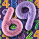 Felt Numbers Set (0-9) - GraphicRiver Item for Sale
