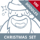 Christmas Hand Drawn Doodles - GraphicRiver Item for Sale
