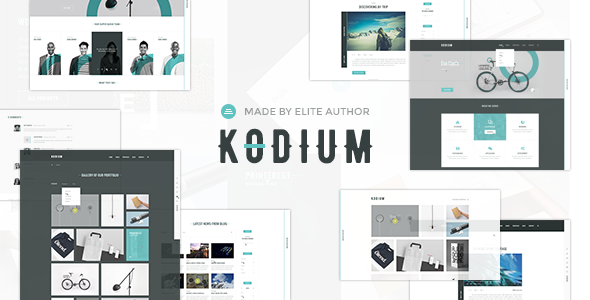 Kodium – Professional Portfolio & Agency Theme