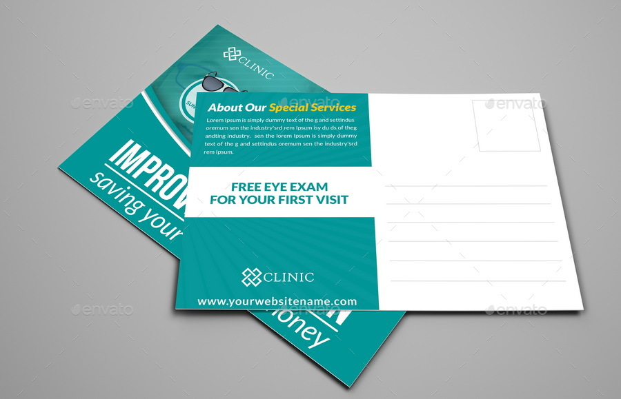 Optometrist & Optician Advertising Bundle by OWPictures | GraphicRiver