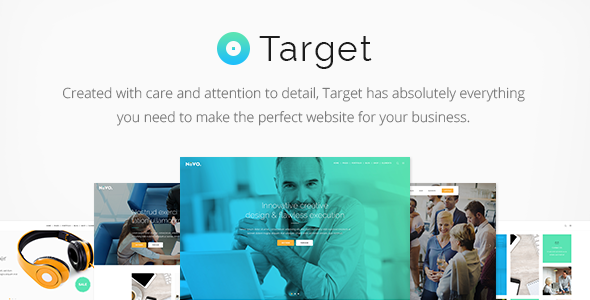 Target – A Powerful & Clean Business Theme