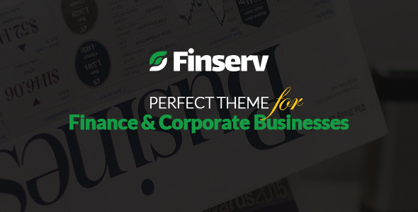 Finserv - Finance, Business Consultancy WordPress Theme