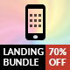 The Mobile Landing & Creative Bundle - CodeCanyon Item for Sale