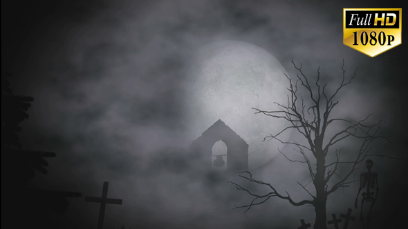 Halloween Moon by eMotion_Design | VideoHive