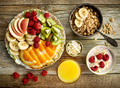 healthy breakfast ingredients - PhotoDune Item for Sale