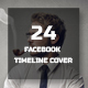 24 Facebook Timeline Cover Bundle - GraphicRiver Item for Sale