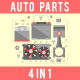 Auto Spare Parts Concept Set - VideoHive Item for Sale