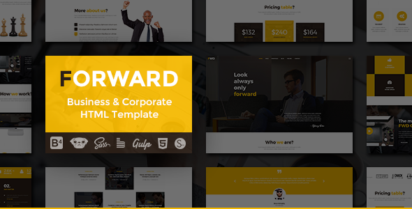 Forward – Business & Corporate HTML Template