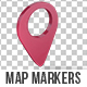 Map Markers Looped - VideoHive Item for Sale
