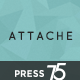 Attache Infinite Scrolling WordPress Theme Nulled