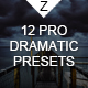 12 Pro Dramatic Presets - GraphicRiver Item for Sale