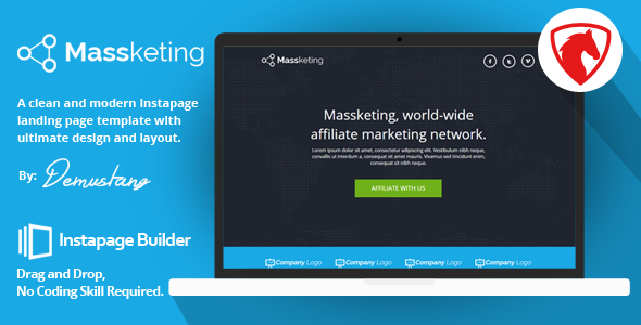 Massketing - Instapage Landing Page Template - Instapage Marketing