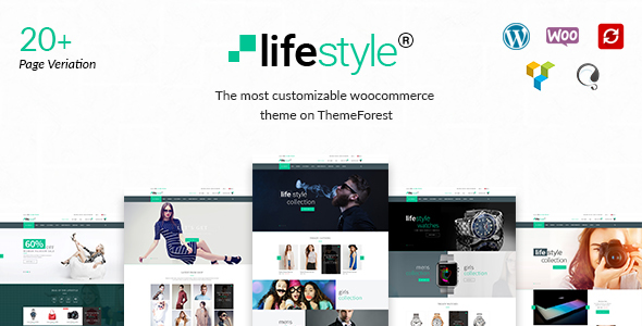 LifeStyle – WooCommerce Multi-Purpose WordPress Theme