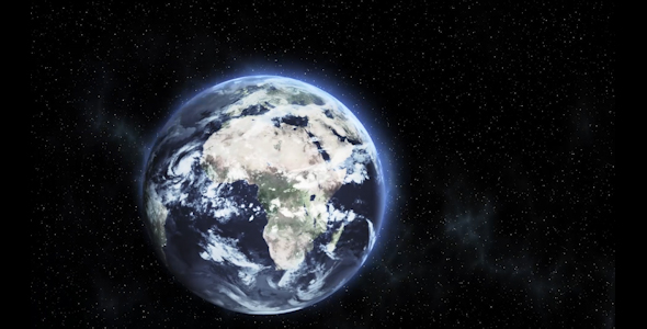 3D Earth In Space by TYW-DIGITAL-MEDIA | VideoHive