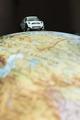 Car on globe - PhotoDune Item for Sale
