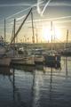 Yachts in Saint-Tropez bay