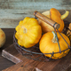 Several decorative pumpkins and patissons - PhotoDune Item for Sale