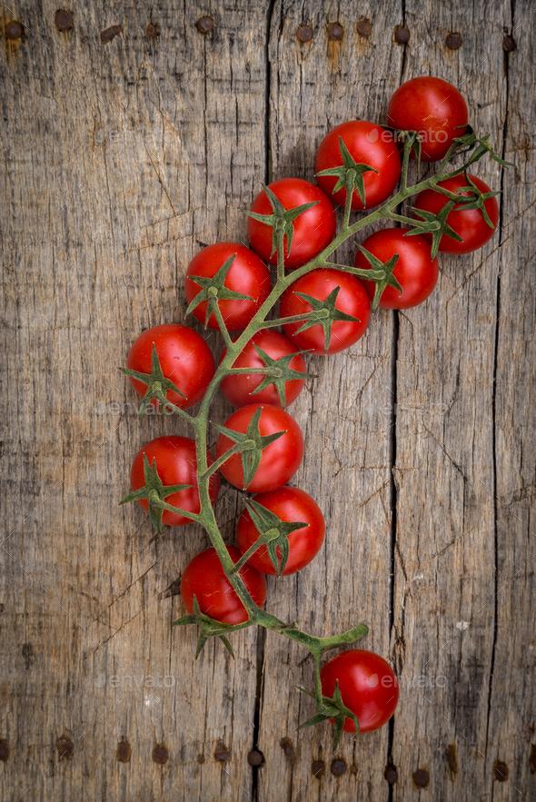 Tasty fresh tomatoes - Stock Photo - Images