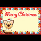 Christmas Card with Happy Young Cat - GraphicRiver Item for Sale