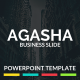 AGASHA - PowerPoint Template - GraphicRiver Item for Sale
