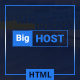 BigHost - Web Hosting Domain Technology HTML Template Nulled
