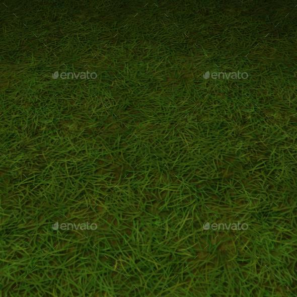 ground grass tile 12 - 3DOcean Item for Sale