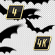 Halloween Bats Transition