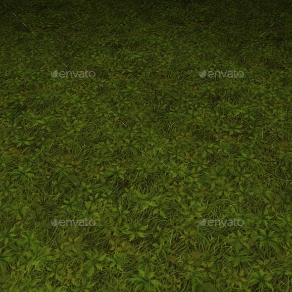 ground grass tile 18 - 3DOcean Item for Sale