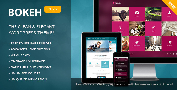 Bokeh | WordPress Theme for Blog & Business
