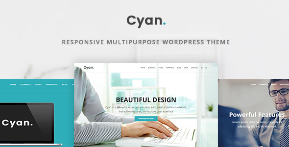 Cyan – Responsive Multipurpose WordPress Theme