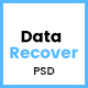 Data Recover - Data Recovery Service Website PSD Template - ThemeForest Item for Sale