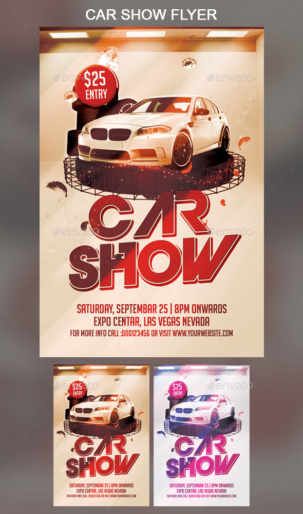 Car Show Flyer - Events Flyers