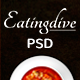 Eatingdive - Restaurant PSD Template Nulled