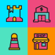 Icon design, Icons set, colorful icons - GraphicRiver Item for Sale