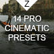 14 Pro Cinematic Presets - GraphicRiver Item for Sale